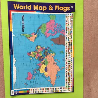 Mymap world interactive talking world map poster toys indoor world map poster gumiabroncs Gallery