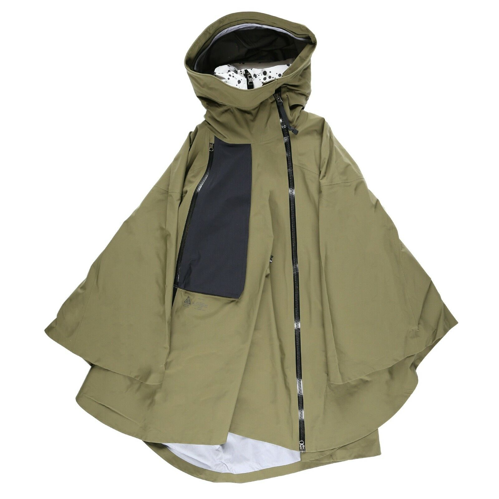 Nike Ponc ACG 3 in 1 System AR4542-395 Olive Down Vest Gore-