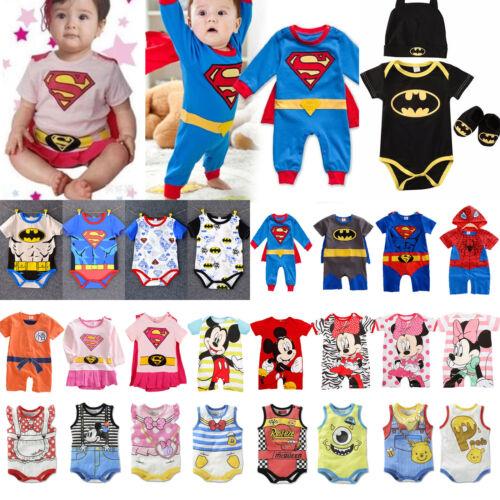 Baby Jungen Superhelden Superman Cosplay Mädchen Kinder Strampler Overall Romper