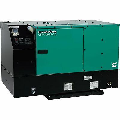 Cummins 10.0hdkcc-42345 Onan Quiet Series Diesel Commercial Generator 10kwwatts