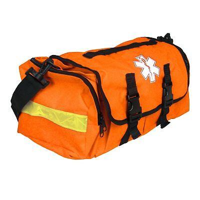 Emergency First Aid Responder Ems Bag Medical Trauma Case Orange Empty Jump Bag