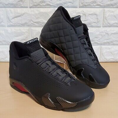 Nike Air Jordan Retro 14 SE Size 9.5 Black Ferrari Black Anthracite BQ3685-001