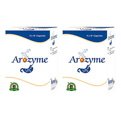 - Herbal Remedies For Constipation Problem To Prevent Indigestion 100 Arozyme Caps