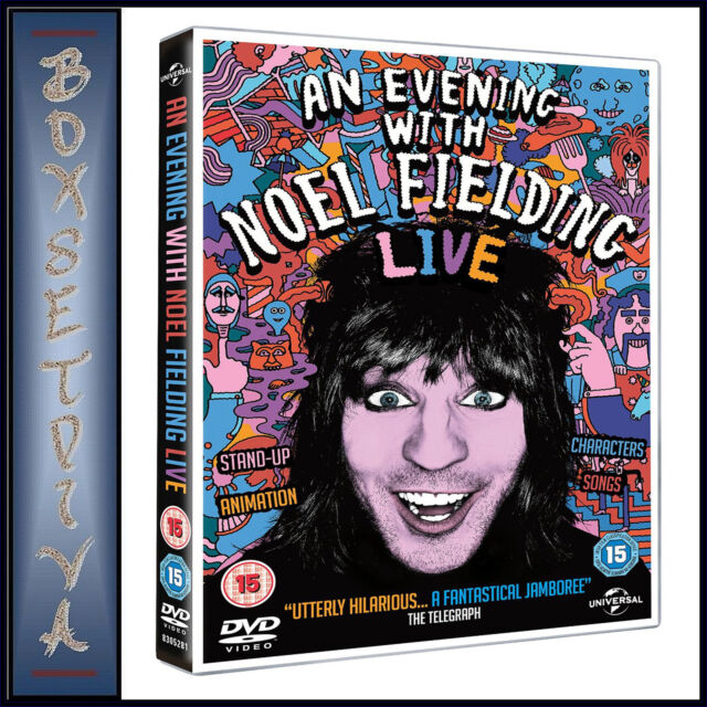 AN EVENING WITH NOEL FIELDING   *BRAND NEW DVD***