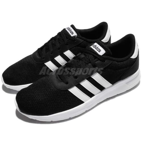 adidas Neo Runeo 10k Black White Suede