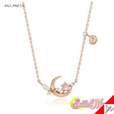 OST X SAILOR MOON Moonlight Silver Necklace Limited Edition -100% Authentic