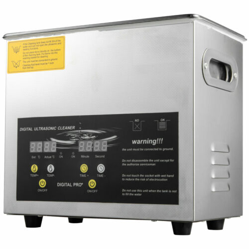 3L 200w Industry Ultrasonic Cleaners Cleaning Equipment w/Timers Heaters