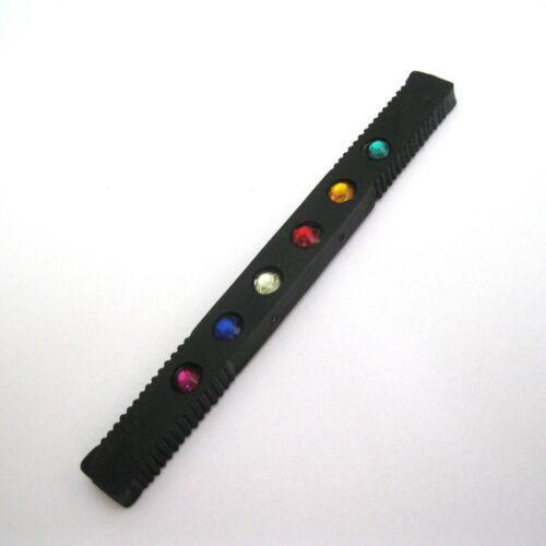Hot Rod Black Multi Color Gems Change Color Close Up Magic Trick