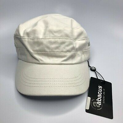 Abacus Cap Women's Adjustable White Golf Hat New