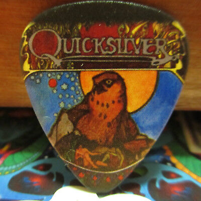 QUICKSILVER MESSENGER SERVICE Collectors Guitar Pick; 'Fire Brothers' QMS Bird