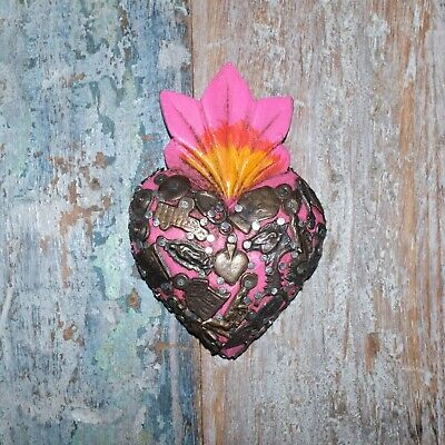 Mexican Milagro Heart Decoration Mini P