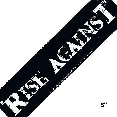 STICKER - Rise Against Punk Rock Music Decal  SA38