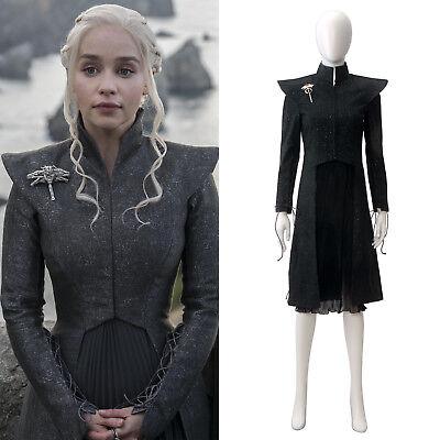 Game of Thrones Mother of Dragons Daenerys Targaryen Daenerys Cosplay Kostüm (Game Of Thrones Weibliche Kostüm)