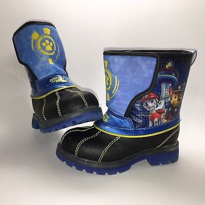 Paw Patrol  Just Yelp For Help  Kids Boots Size 7 8