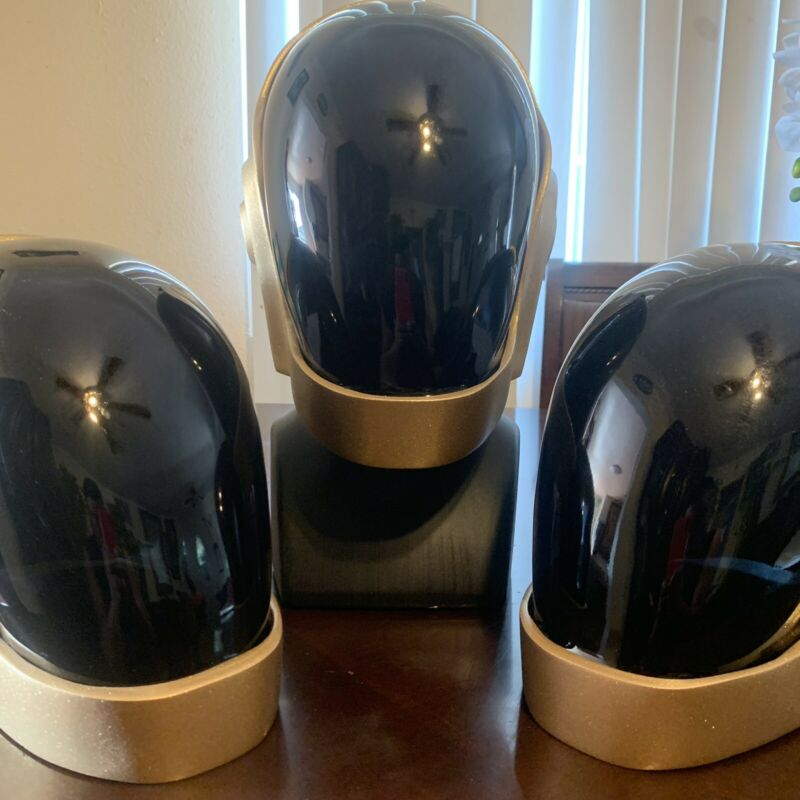 Daft Punk Helmet replica Guy-Manuel FREE SHIPPING ASSEMBLED (METALLIC GOLD)