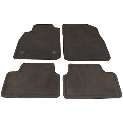 2012-15 Chevy Cruze Floor Mat Front & Rear Cocoa Brown Carpet New GM (Carpets Chocolate)