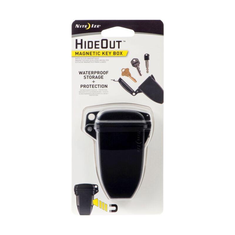 Nite Ize HideOut Magnetic Key Box Hide-A-Key Waterproof Storage w/ Strong Magnet