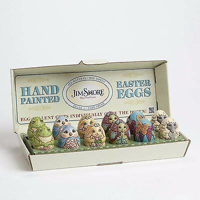 Mini Character Eggs - Set Of 12 Figurines By Jim Shore - 4051405 - NIB!!