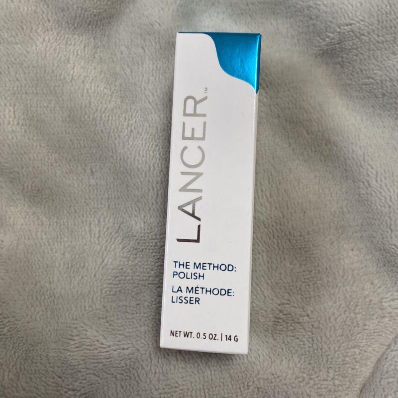 New Lancer The Method Polish, Face Treatment Cleanser Exfoliator, 0.5oz