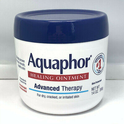 Aquaphor Advanced Therapy Healing Ointment for Dry Cracked & Irritated Skin 14oz Dry Skin Ointment