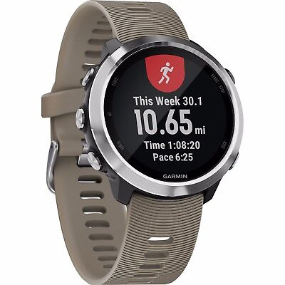 Garmin Forerunner 645 GPS Training Watch with Sandstone Color Band 010-01863-01
