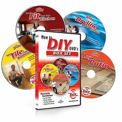 How To DIY Box Set – 4 DVD's