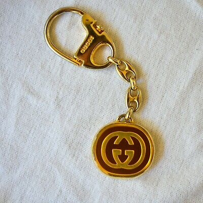 Vintage Authentic Gucci Key Chain 1982