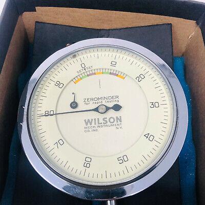 Wilson Indicating Gauge For Rockwell Zerominder Hardness Tester B957