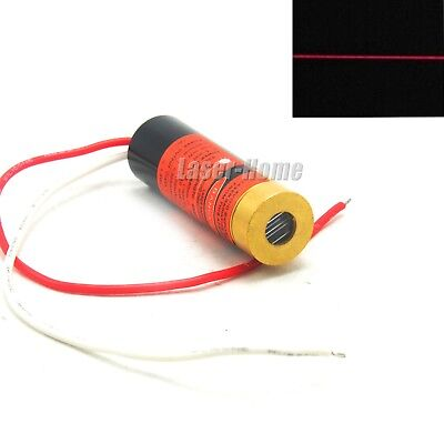 Focusable 650nm 5mw Red Line Laser Diode Module Adjusted Industriallab 13x42mm
