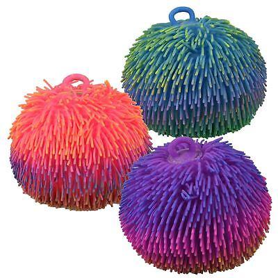 Large Puffer Ball Furb Squashy Tactile Sensory Stress Relief Autism Fidget Toys