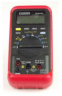 Tp4000zc Pc Rs232 Auto Range Ac Dc Voltage Amp Res Cap Freq Digital Multimeter