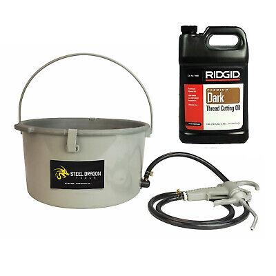 Steel Dragon Tools 418 Oiler Oil Bucket 1 Gallon Ridgid Dark Threading Oil