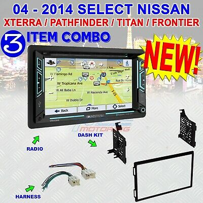 FITS/FOR 04-14 NISSAN TRUCK/SUV GPS NAV BLUETOOTH USB CD/DVD RADIO STEREO