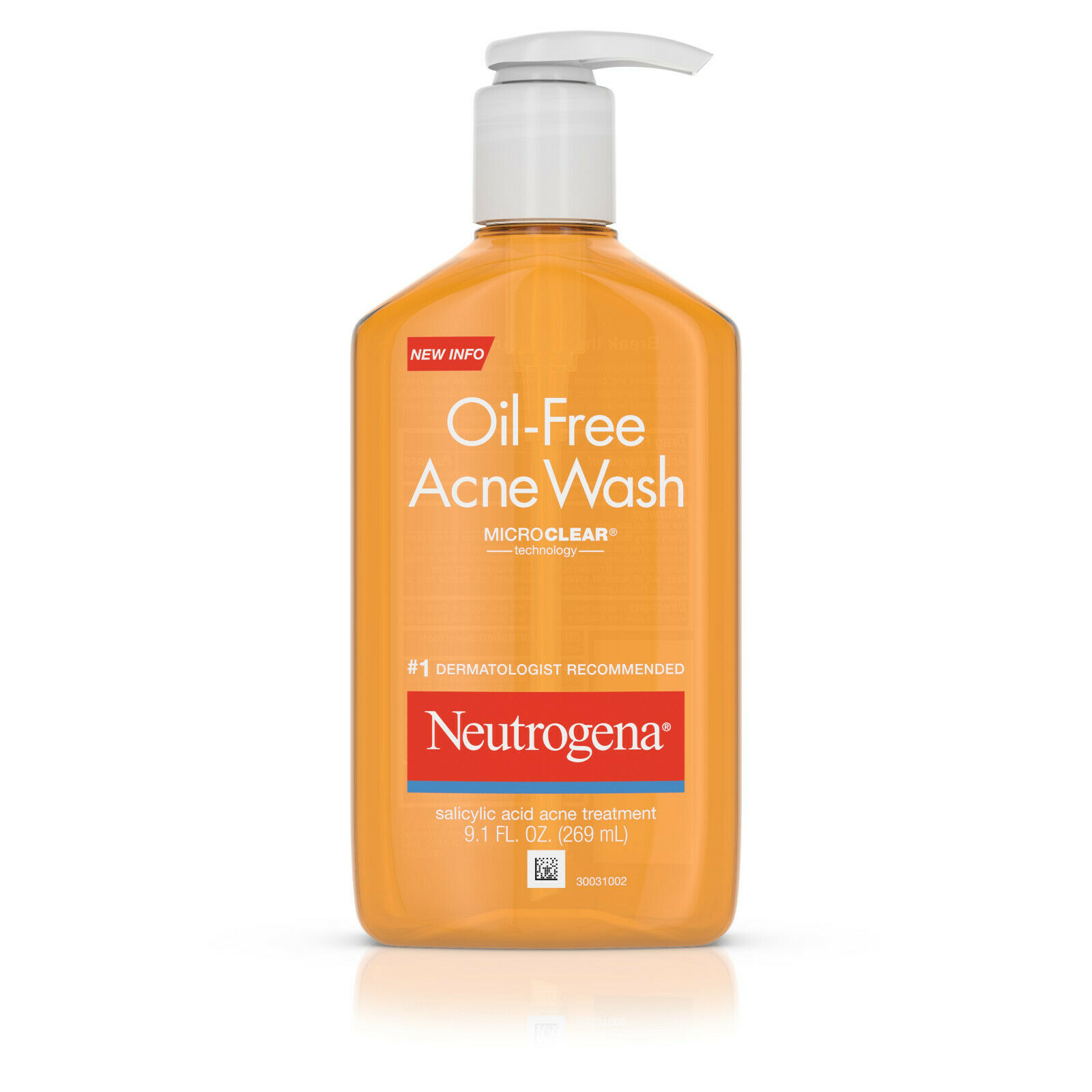 Neutrogena Oil-Free Acne Fighting Face Wash with Salicylic A