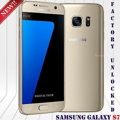 Samsung Galaxy S7 SM-G930 - 32GB - Gold Platinum (Unlocked) Smartphone