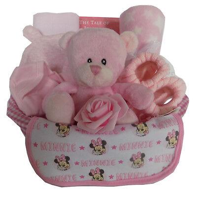 Deluxe Baby Girl Gift Hamper Basket - New Baby / Baby Shower / Nappy (Deluxe New Baby Girl Basket)