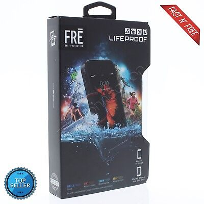 LIFEPROOF FRE CASE FOR iPhone 5 / iPhone 5S / iPhone 5SE -  BLACK