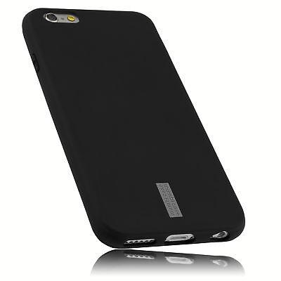 mumbi Hülle für Apple iPhone 6 6s Schutzhülle Case Tasche Cover Schwarz (Apple Iphone6 Silikonhülle)