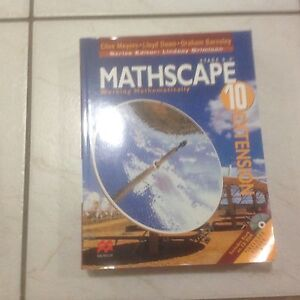 Mathscape book-  Year 10 Text book Cherrybrook Hornsby Area Preview