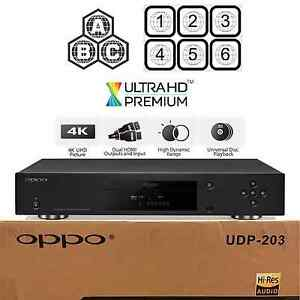 oppo digital udp 203 region free 4k ultra hd uhd hdr 3d
