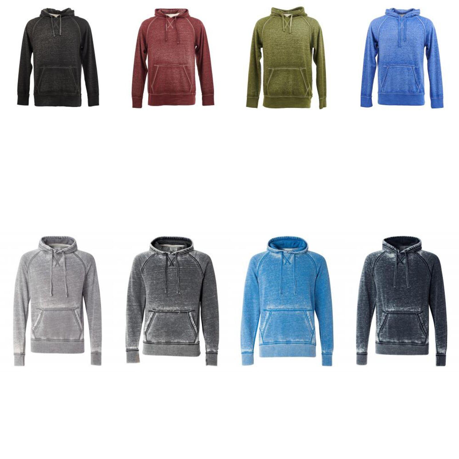 Details about J. America Vintage Zen Hooded Pullover Sweatshirt. 8915
