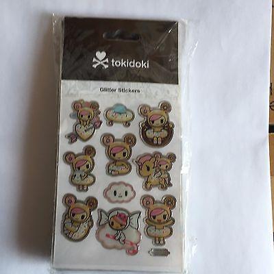 tokidoki Glitter Stickers - donutella