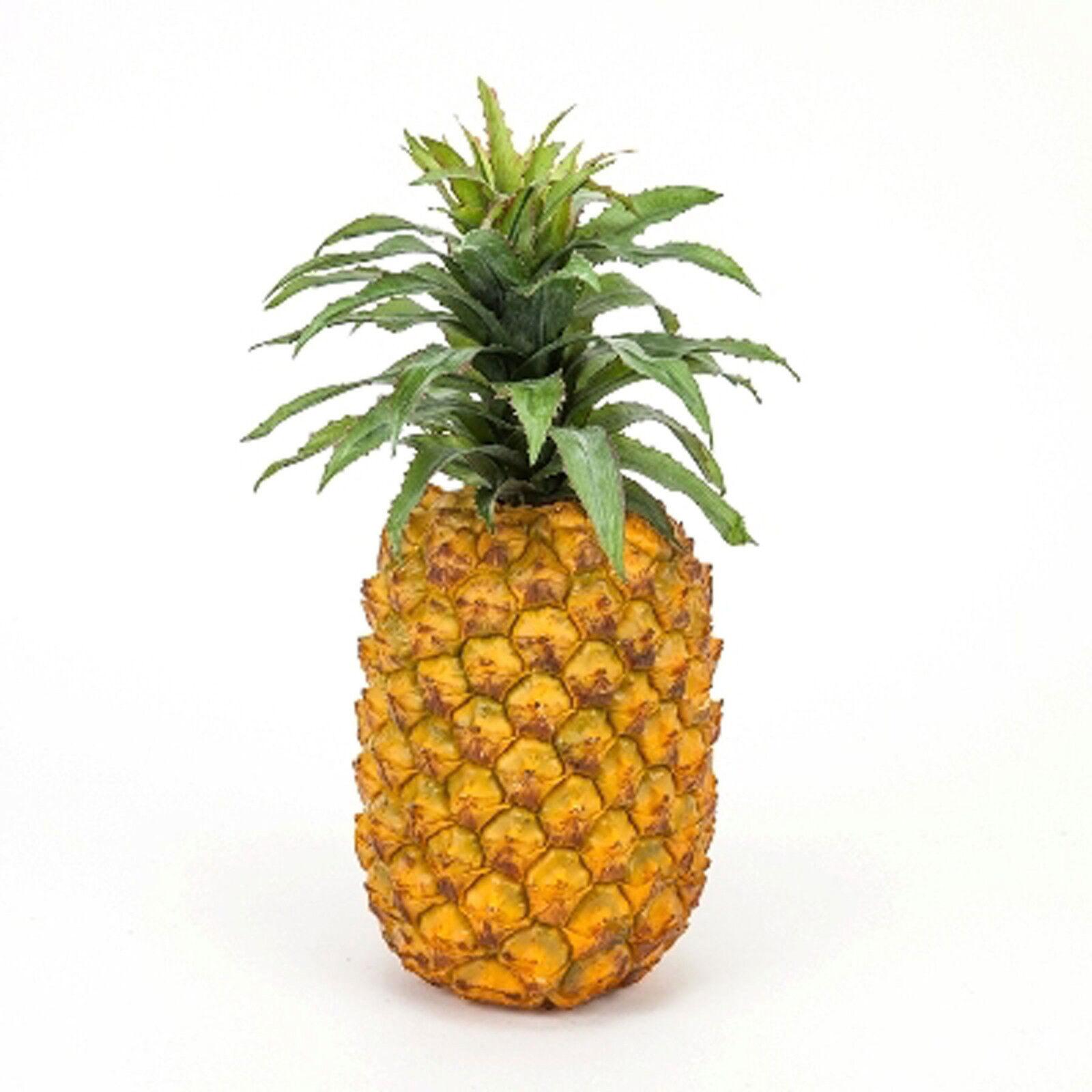 Artificial Large Pineapple Decor Fake Fruit Realistic Lif...