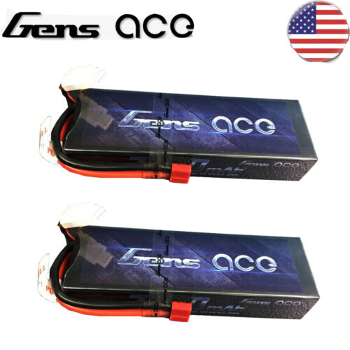 GA-B1077 Gens Ace 2s LiPo Battery Pack 70C  w/T-Syle Connect