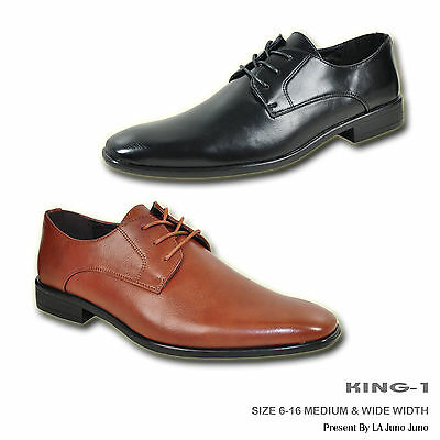 Bravo Men Dress Shoe King 1 Classic Oxford With Leather Lining