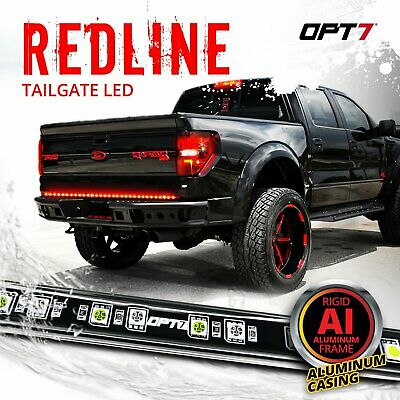 "48"" LED Tailgate Light Bar Truck Pickup Turn Signal Reverse Brake Back-Up Glow"