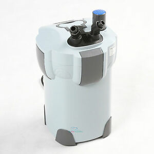 STAGE AQUARIUM CANISTER FILTER + 9W UV STERILIZER 265 GPH FRESH/SALT