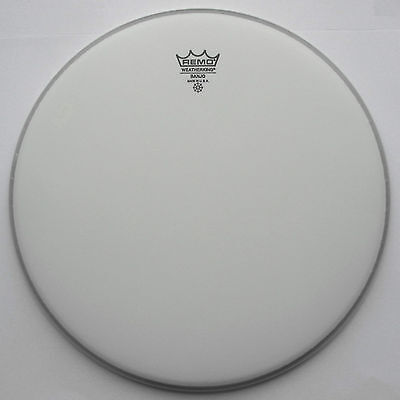 """Remo Banjo Heads-Weatherking coated top from 11"""" - 12 2/16"""" HML"""