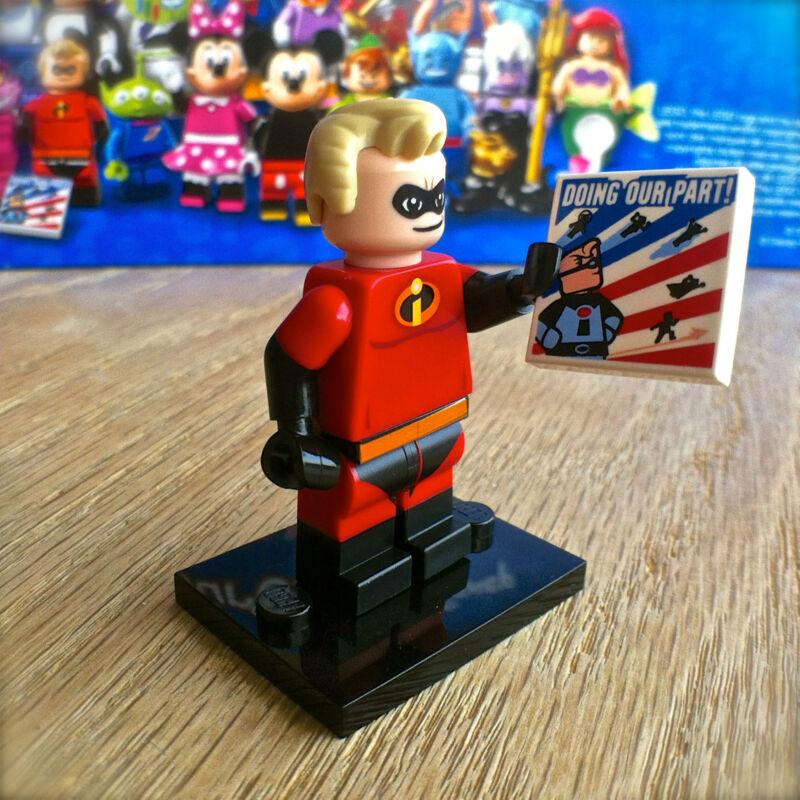 Mr New LEGO MINIFIGURES DISNEY SERIES 71012 Incredible