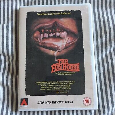 The Funhouse Arrowdrome Arrow Video DVD Tobe Hooper Video Nasty Horror Cult